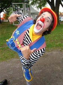Yahou le clown